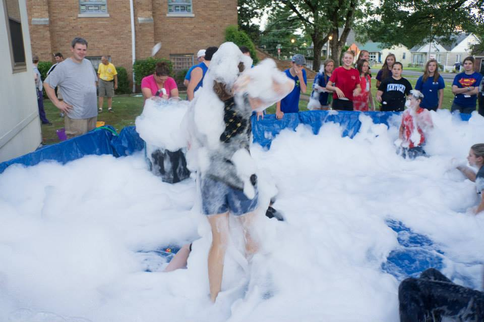 Make Your Own Foam Party