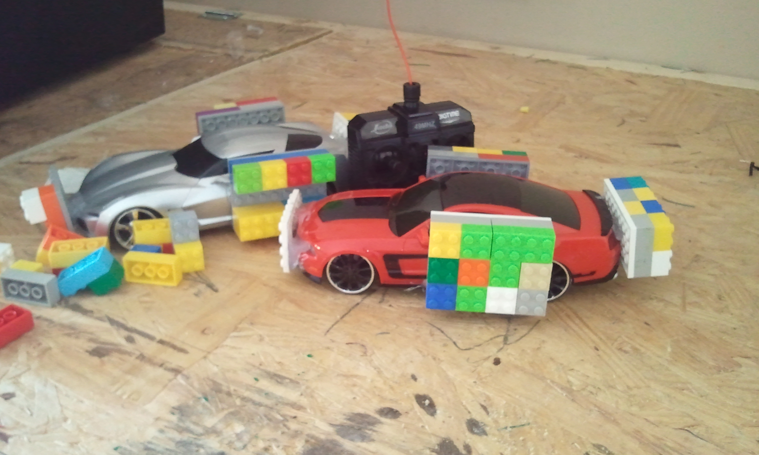 Lego Demolition Derby