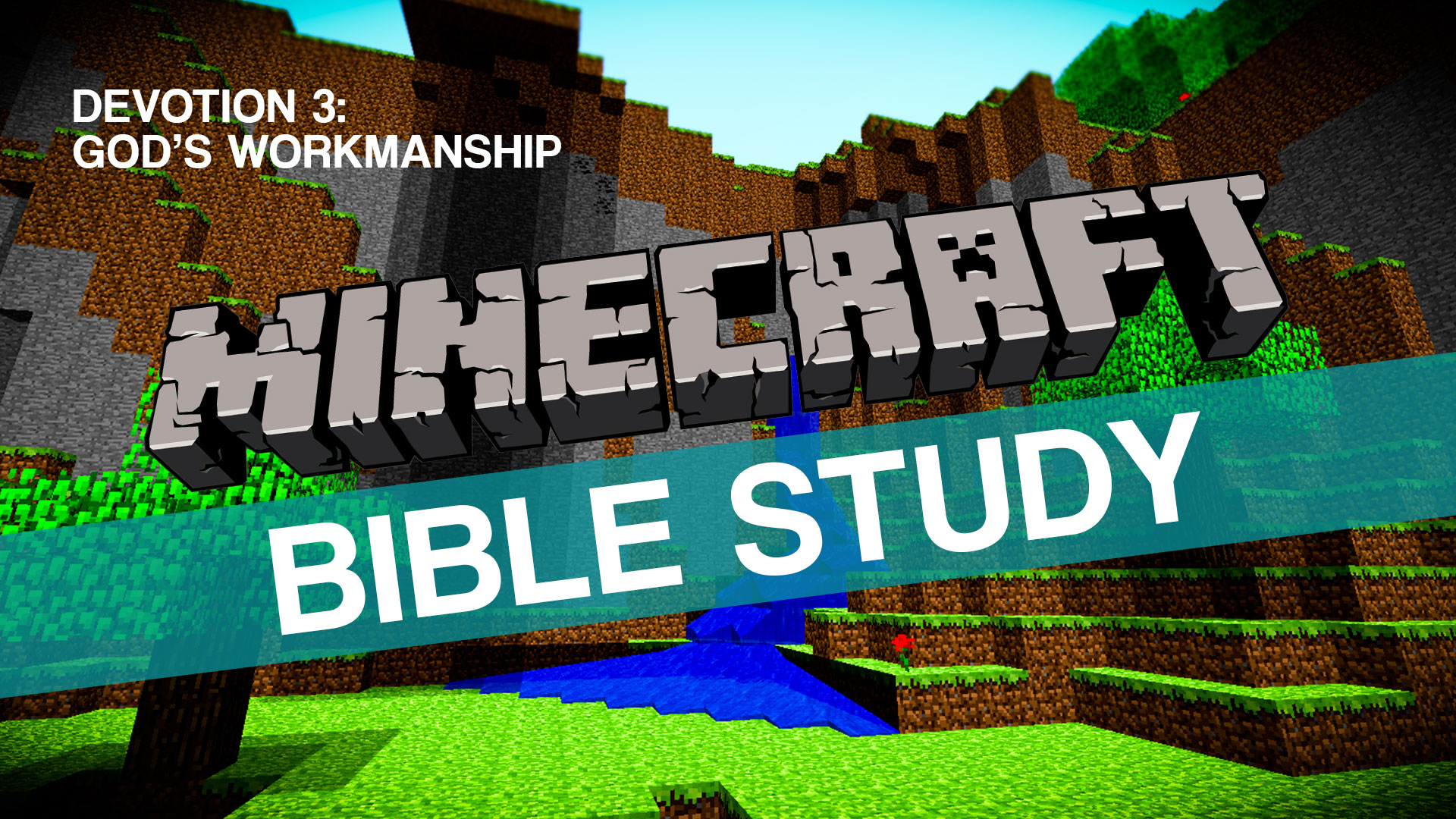 Minecraft Bible Study on John 15:5